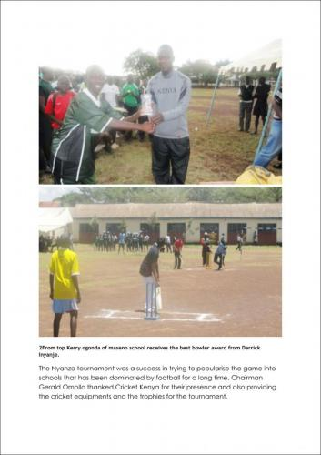 Cricket for Care