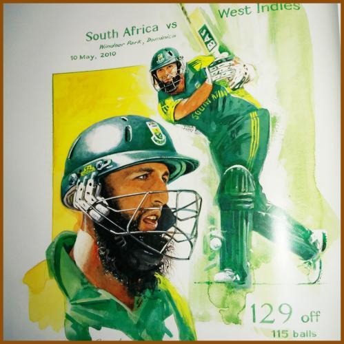 Hashim M Amla (South Africa)